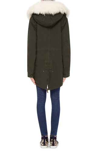 Fur Front Parka  by MR & MRS ITALY Now Available on Moda Operandi