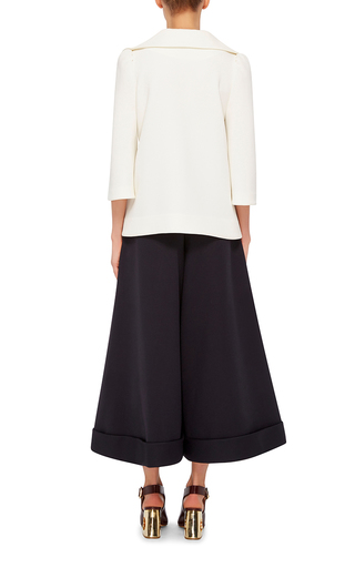 Structured Flared Collar Shirt by CO Now Available on Moda Operandi