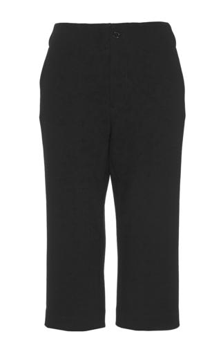 Medium co black straight leg capri pant