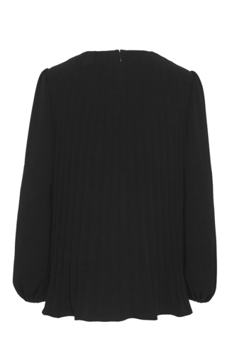 Japanese Crepe Pleated Blouse by CO Now Available on Moda Operandi