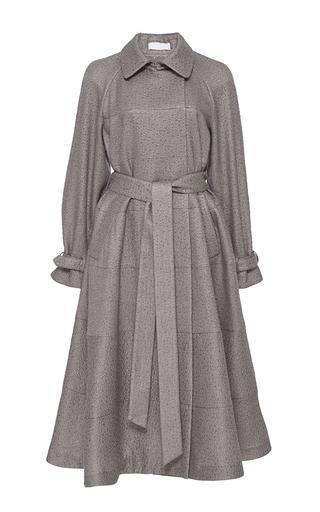 Medium co tan italian wool trench coat
