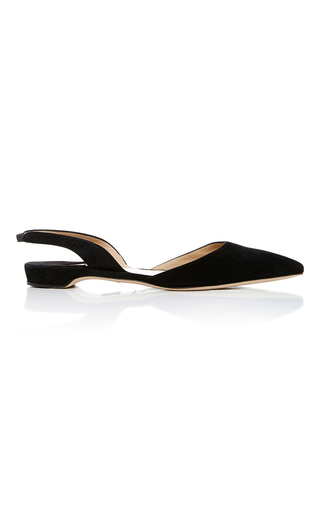 Rhea Suede Flats by PAUL ANDREW Now Available on Moda Operandi