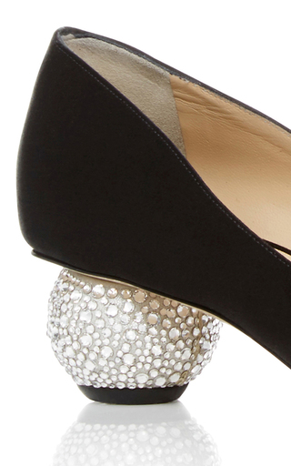 Ankara Crystal & Satin Pumps by PAUL ANDREW Now Available on Moda Operandi