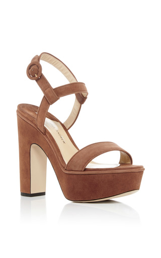 Medium paul andrew tan stanton platform sandals
