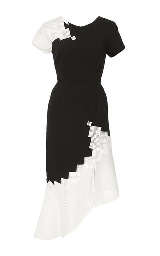 Medium jonathan simkhai black diamond mesh tee dress