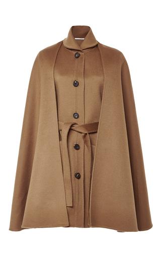 Medium rosetta getty brown alpaca wool cape vest