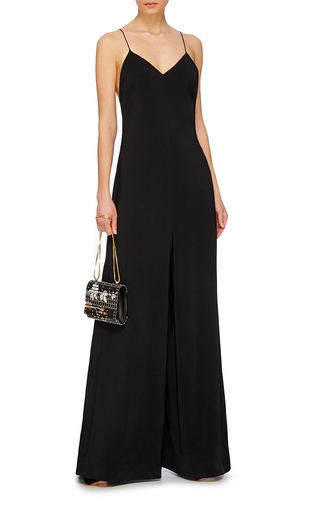 Fluid Cady Camisole Jumpsuit by ROSETTA GETTY Now Available on Moda Operandi