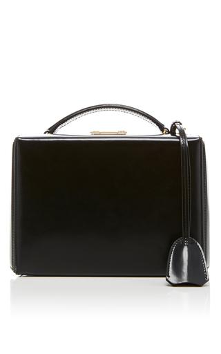 Medium mark cross black grace dover leather box bag