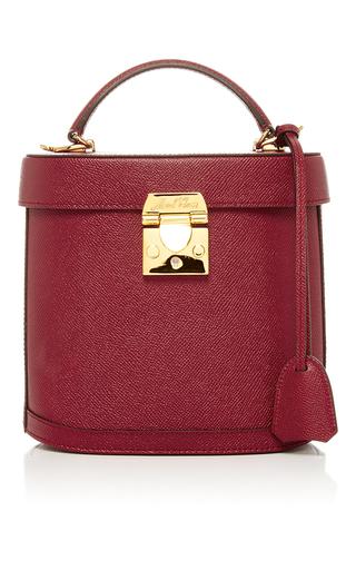 Medium mark cross burgundy benchley saffiano leather bag  2