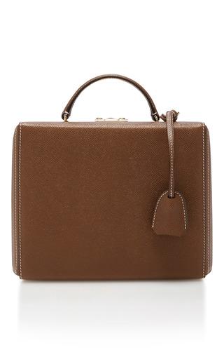 Medium mark cross brown grace large box bag  3
