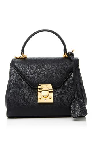 Medium mark cross black hadley baby flap bag