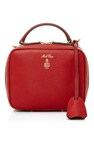Medium mark cross red baby laura camera bag