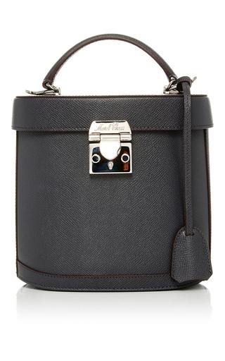 Medium mark cross dark grey benchley saffiano leather bag