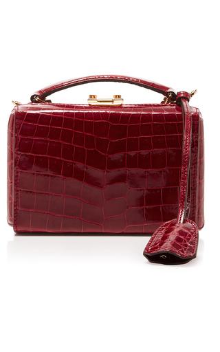 Medium mark cross red grace mini box bag  5