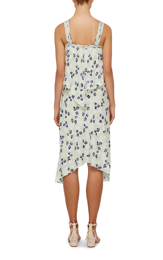 Two Tiered Silk Dress by DEREK LAM 10 CROSBY Now Available on Moda Operandi