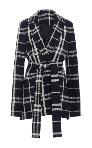 Checked Wrap Jacket by DEREK LAM 10 CROSBY Now Available on Moda Operandi