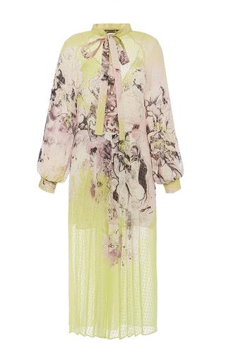 Medium roberto cavalli floral yellow kimono floral fil coupe dress