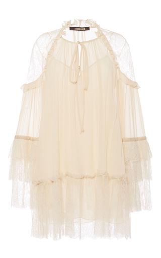 Medium roberto cavalli ivory ivory georgette dress