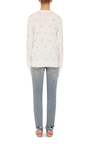 Shane Pineapple Embroidered Sweater by EQUIPMENT Now Available on Moda Operandi