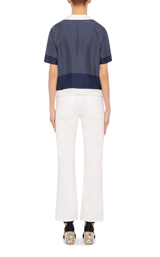 Keira Silk Tie Shirt by EQUIPMENT Now Available on Moda Operandi