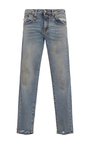 Alison Cropped Straight Legged Jeans by R13 Now Available on Moda Operandi
