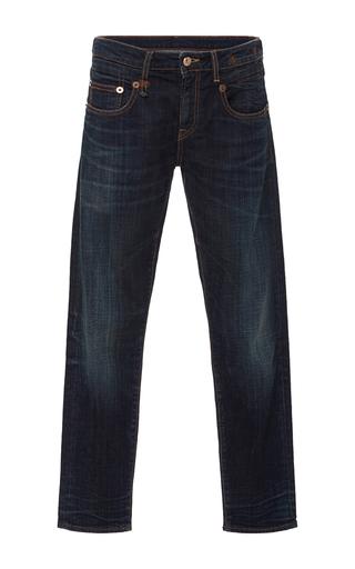 Medium r13 denim dark wash straight leg jean
