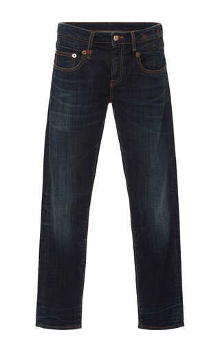 Medium r13 denim dark wash straight leg jean