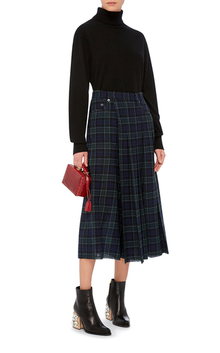 Plaid Kilt Culottes  by R13 Now Available on Moda Operandi