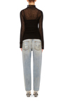 Sheer Cashmere Sweater by R13 Now Available on Moda Operandi