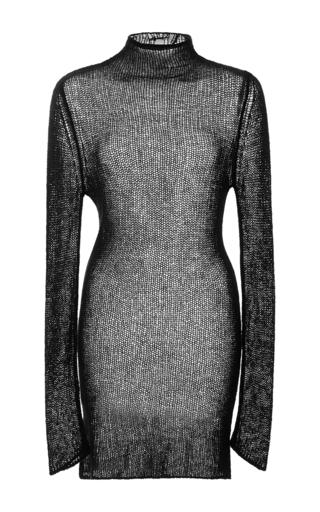 Medium r13 denim black sheer cashmere sweater 2
