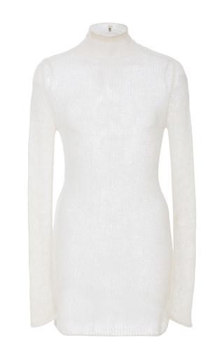 Medium r13 denim white sheer cashmere sweater