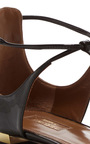 Scarlet Patent Leather Flats by AQUAZZURA Now Available on Moda Operandi