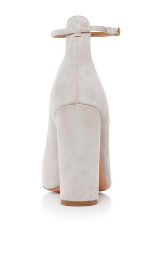 Alix Suede Pumps by AQUAZZURA Now Available on Moda Operandi
