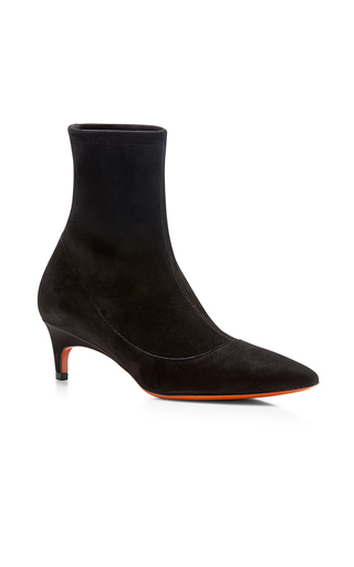 Suede Ankle Boot by SANTONI Now Available on Moda Operandi