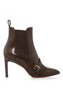 Buckle Strap Ankle Boot by SANTONI Now Available on Moda Operandi