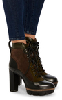 Heeled Hiker Boots by SANTONI Now Available on Moda Operandi