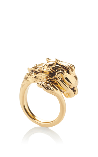 Medium roberto cavalli gold circus ring