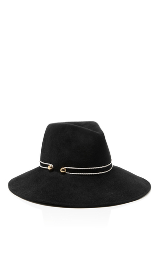 Emmanuelle Wide Brimmed Fedora by EUGENIA KIM Now Available on Moda Operandi