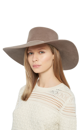 Loulou Boater Hat by EUGENIA KIM Now Available on Moda Operandi