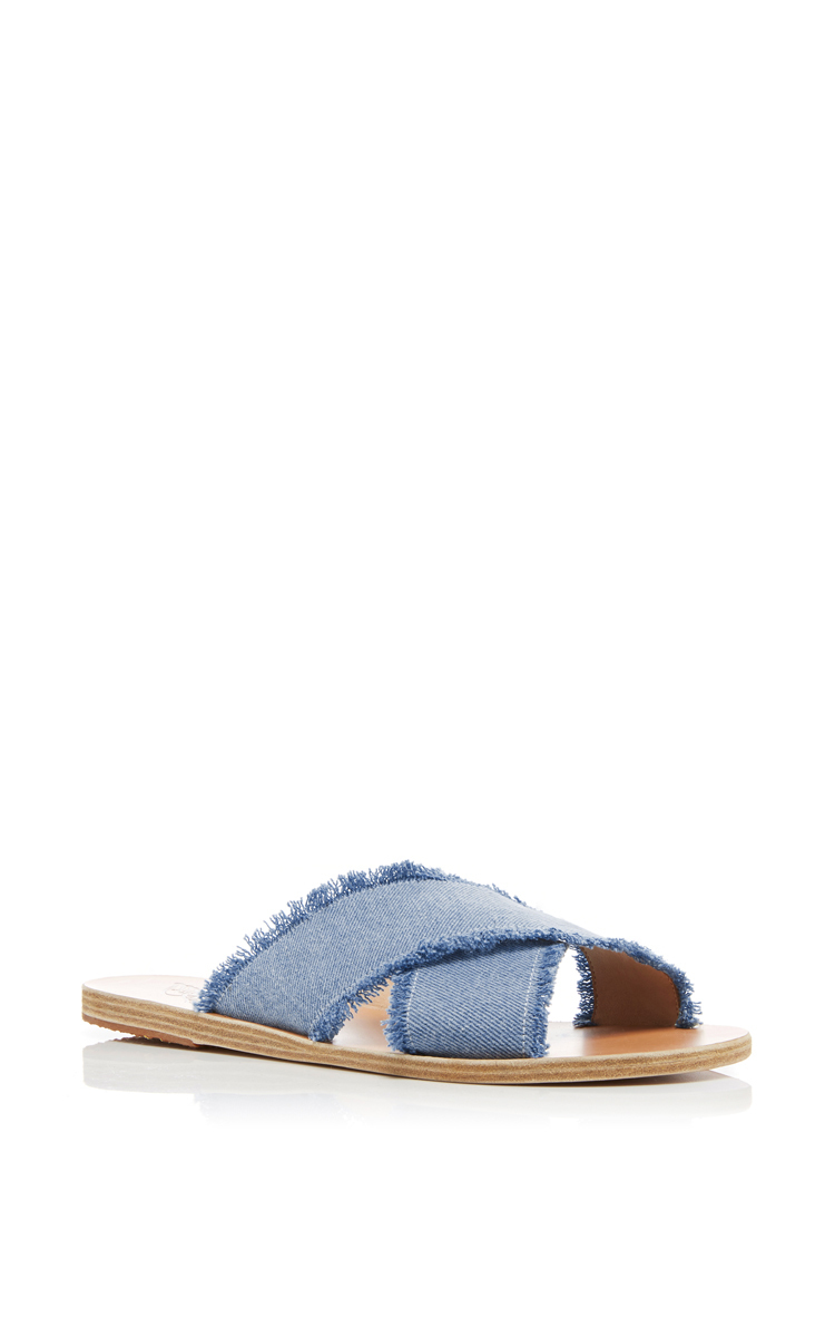... Thais Light Denim Sandals. CLOSE. Loading