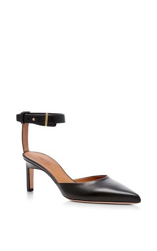 Medium rosetta getty black pointed mid heels 2