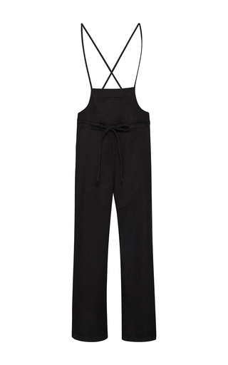 Medium ulla johnson black nadia denim overalls