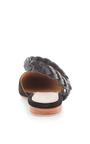 Black Suede Amalia D'orsay Flat by ULLA JOHNSON Now Available on Moda Operandi
