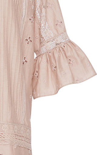 Elena Shift Dress by ULLA JOHNSON Now Available on Moda Operandi