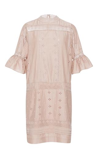 Medium ulla johnson pink embroidered elena dress