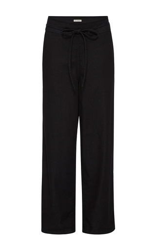 Medium ulla johnson black jet denim sabi pant