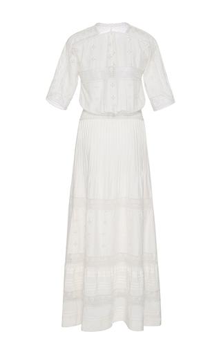 Vasilisia Short Sleeve Dress by ULLA JOHNSON Now Available on Moda Operandi