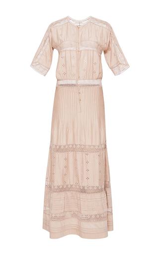 Medium ulla johnson pink vasilisia short sleeve dress 2