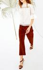 Annushka Blouse by ULLA JOHNSON Now Available on Moda Operandi