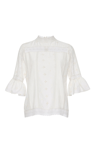 Medium ulla johnson white annushka blouse